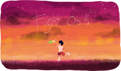 Fight On!! by TomatoSardinas