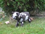 Inspired Minecraft Cow Plushie