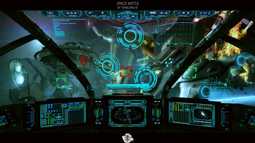 space battle wallpaper by tehneutralhd on deviantart