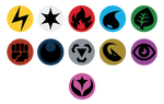 Pokemon Energy Flat Symbols by dbizal