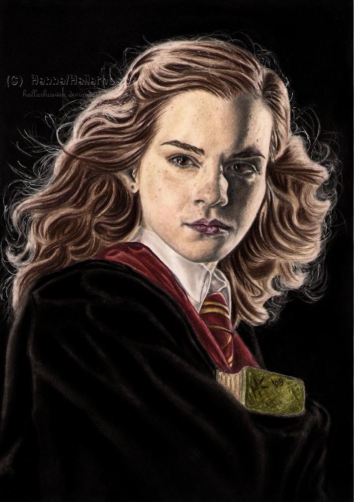 Hermione Granger by Hallarhoswen