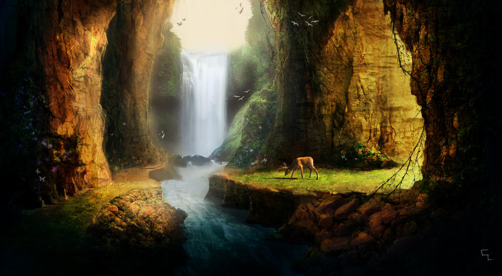 Green Canyon by Cosme Lucero by Aeflus