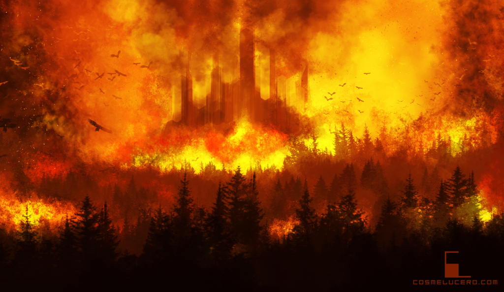 ~~~~~ THE EMPEROR'S CUP ~~~~~ IT HAS BEGUN!!! Burning_castle_2_by_aeflus-d72c5oe