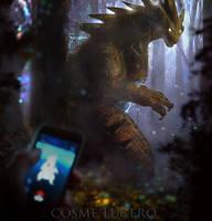 Pokemon GO! Tyranitar Concept ART by Aeflus