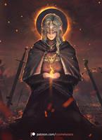 Fire Keeper (DS3 FanArt) by Aeflus