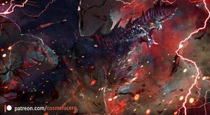 Alatreon Dragon-Mode