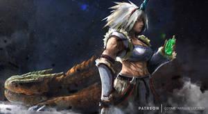 Kirin Huntress patreon
