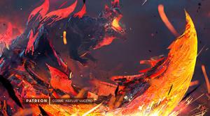 The Incinerating Blade, Hellblade Glavenus