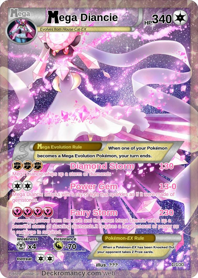 Tus cartas preferidas Mega_diancie_by_kleijxd-d7slbj8