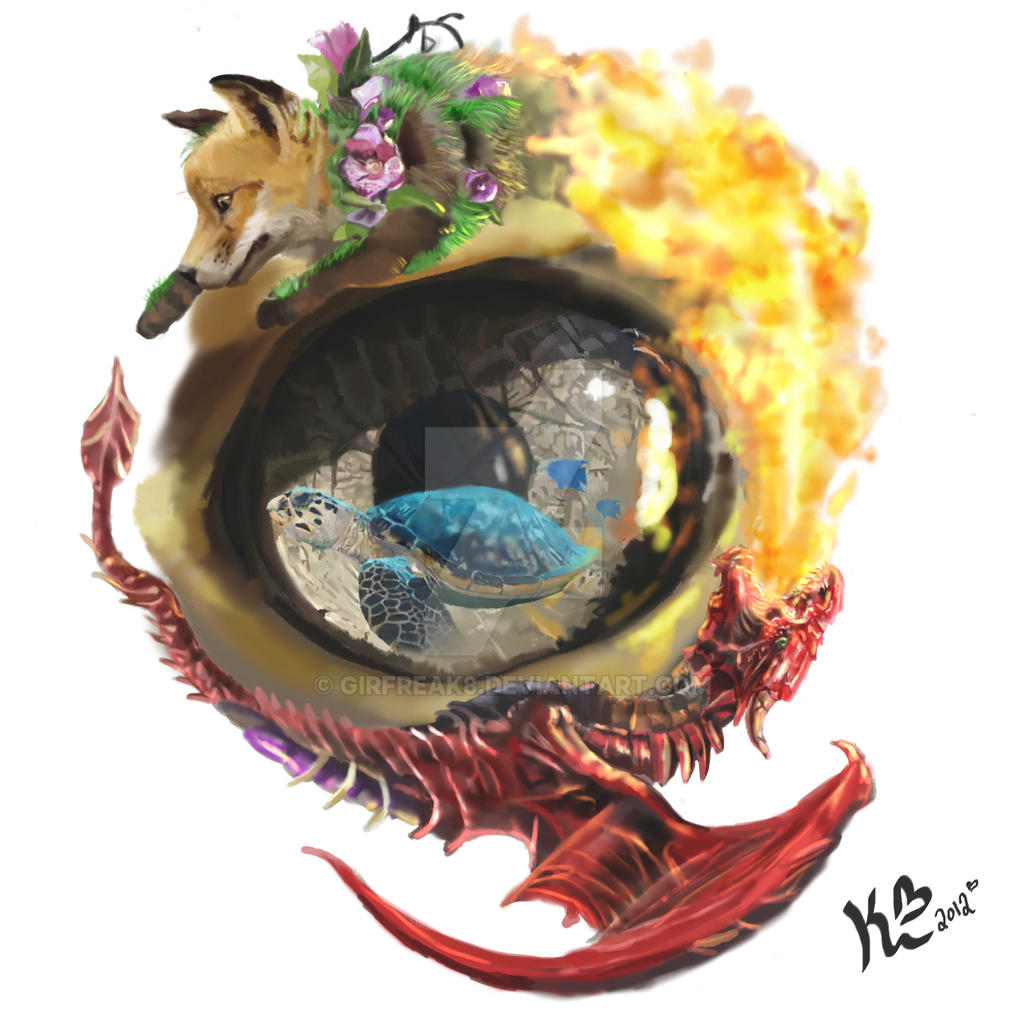 Aspects Of Art : Four elements tattoo design by girfreak on deviantart