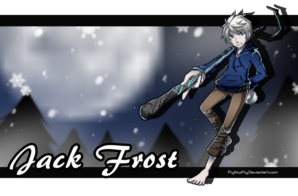 RotG: Jack Frost by FlyKiwiFly
