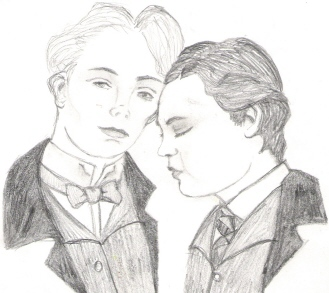 Robbie and Bosie by luella-golightly