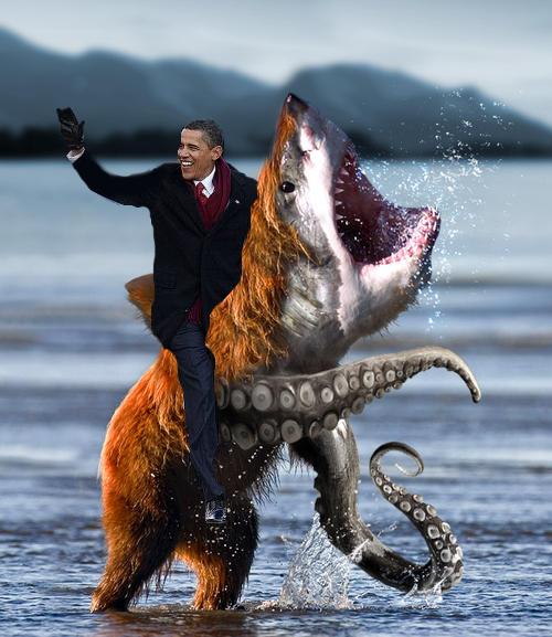 El Presidente de los USA by Luperess
