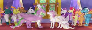 Spike and Sweetie Belle's wedding
