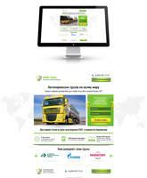 Landing Page (Cargo Auto Transport) by Roamn