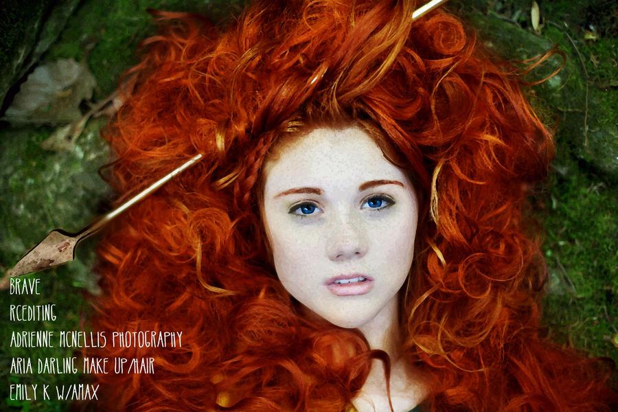Princess Merida by thexlookingxglass