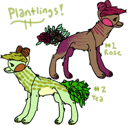 plantlings guest litter!! by impossible-fox