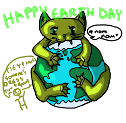 happy earth day you guys by impossible-fox