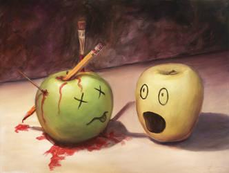 The Artist's Revenge by SilentBeforeTheStorm