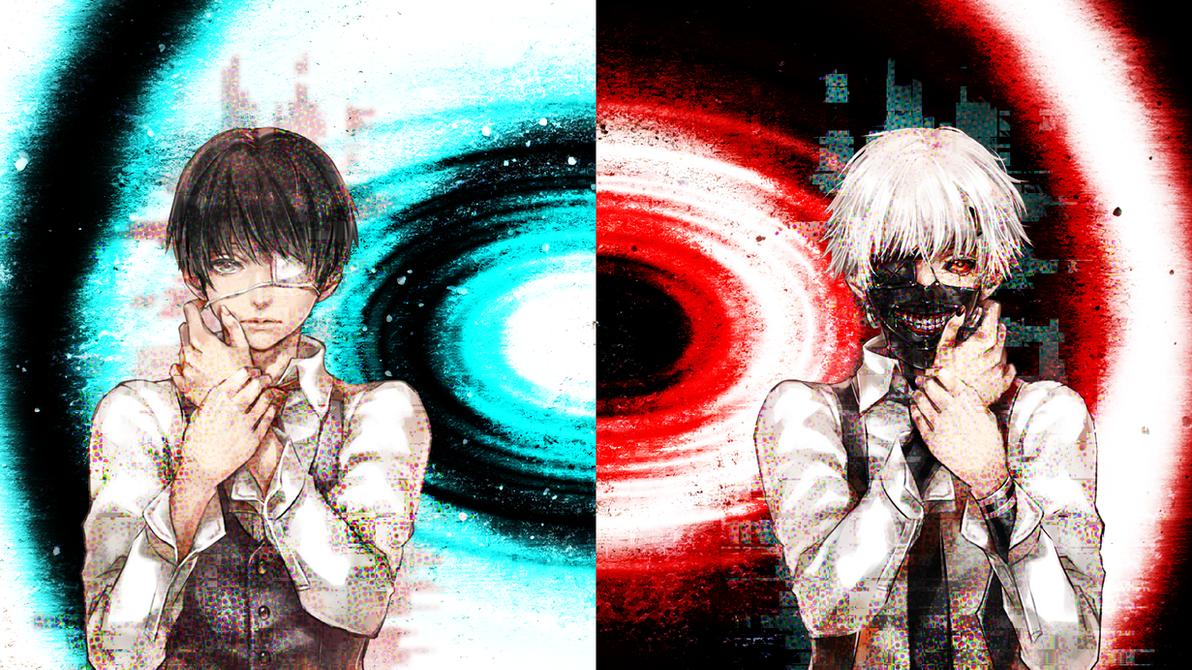 Wallpaper Tokyo Ghoul - Kaneki Ken by CrossXAce