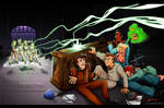 -Real Ghostbusters Face Off-
