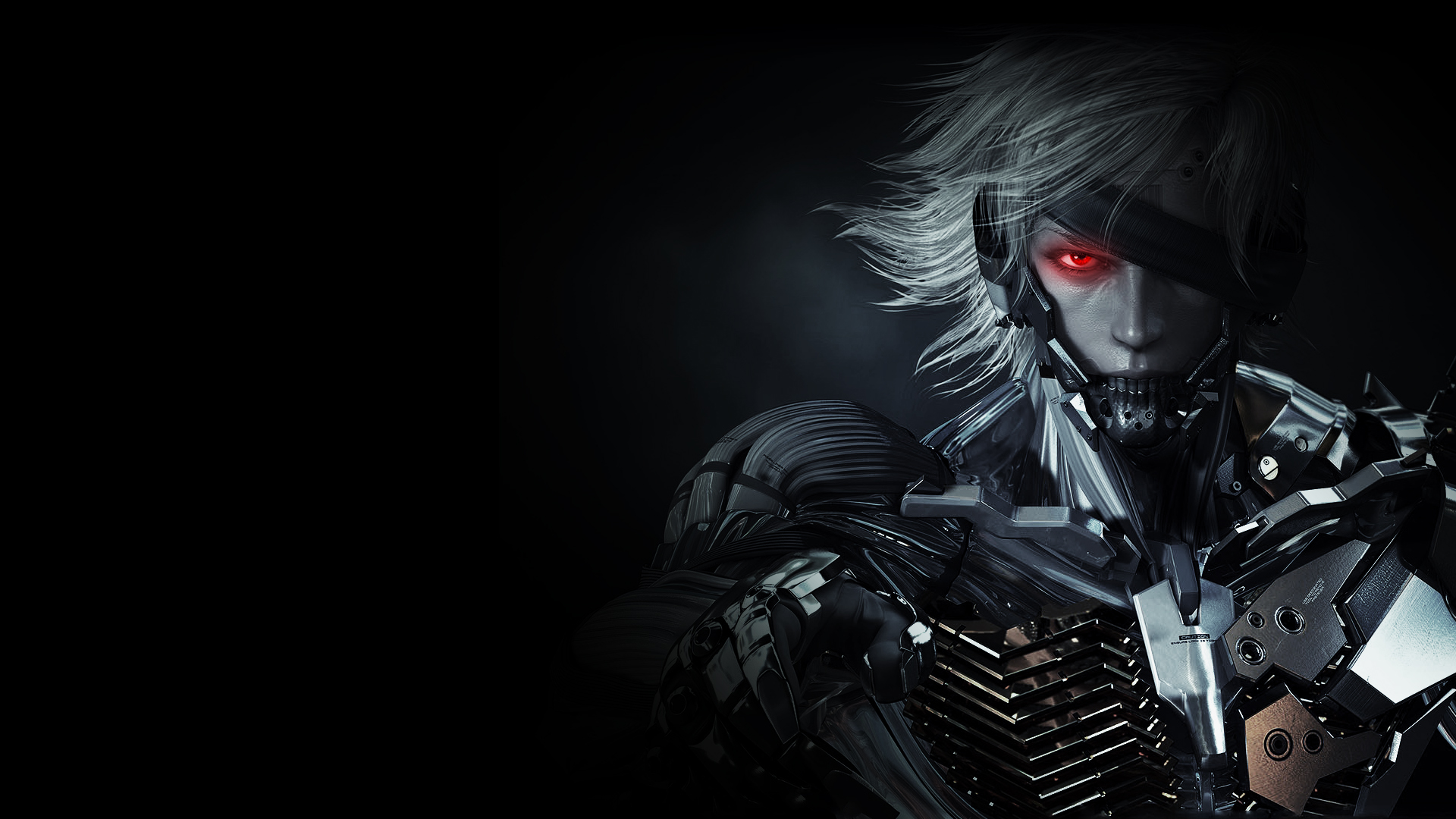 Raiden MGS Rising HD Wallpaper by LiquidRaiden
