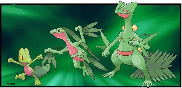 Treecko Evolution Banner by joyful-melody on DeviantArt