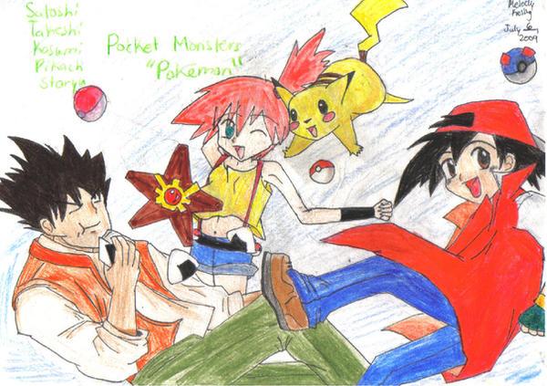 Pokemon manga style by joyful-melody on deviantART  Pokemon manga s...