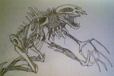 Necromorph Stalker 1 by ResistanceisFutileXP