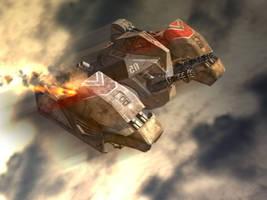 Spacecraft by juanjoharo