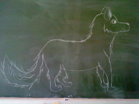 Wolf of boredom