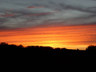 Little burning Sundown by Amatao