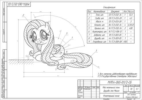 Fluttershy blueprint
