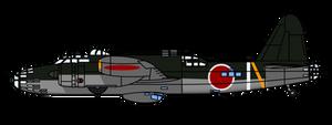 Japanese Secret Projects Ki-58 Escort Fighter
