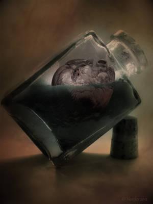 Drowned heart by Noxifer