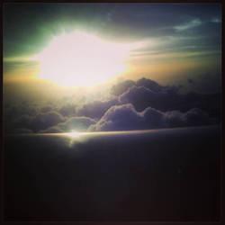 Flying away... by Noxifer