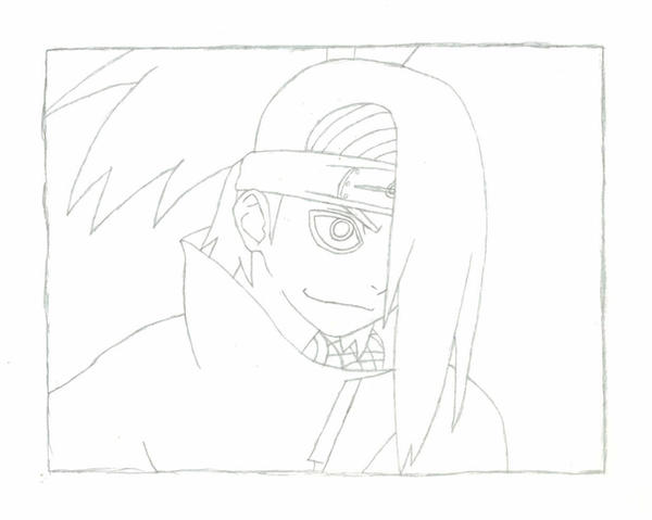 Deidara - Pencil by Ayano-Nara