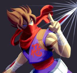 Strider Hiryu by Megamario5599
