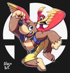 Banjo Kazooie in Smash