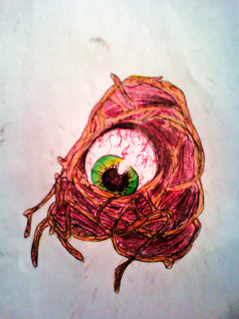 All-seeing eye by Breekemtokem