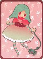 Little Miss Muffet by superdonut