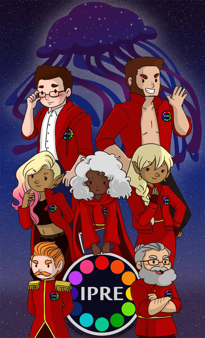 The Adventure Zone - IPRE Crew by superdonut