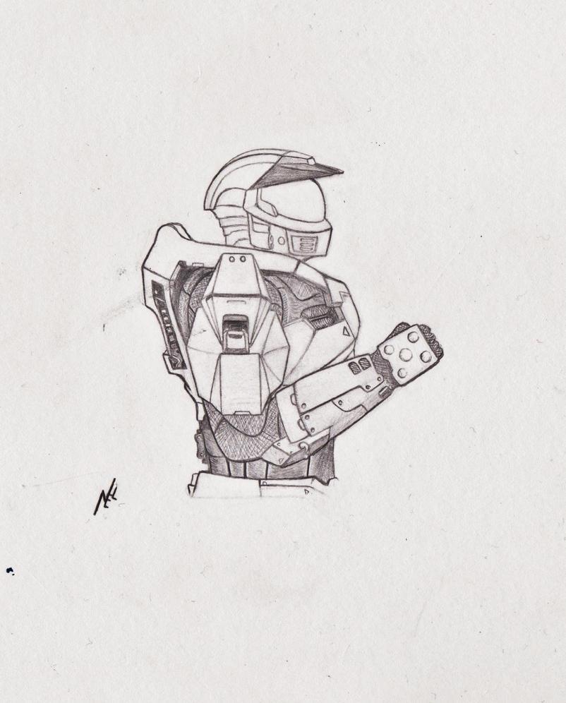Halo CE spartan by nel-izabeth