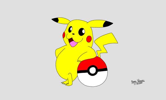 Pikachu with Pokeball