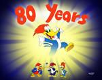 Happy 80th Anniversary Woody!
