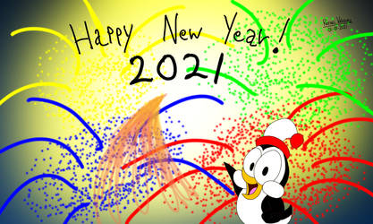 Happy New Year 2021 - Panel 4 of 4