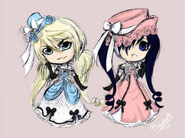 Alois and Ciel! by:Rinette