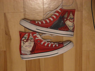 Grell shoes ~ by KrustenKaese09