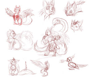 Sketches of Kyuurei