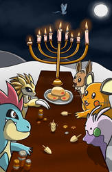 Pokemon Hanukkah